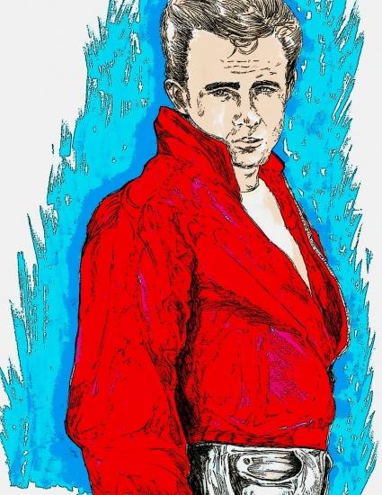 James Dean par didgiv